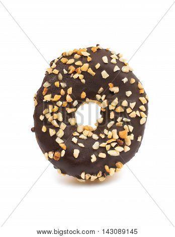 creative donut glaze on a white background