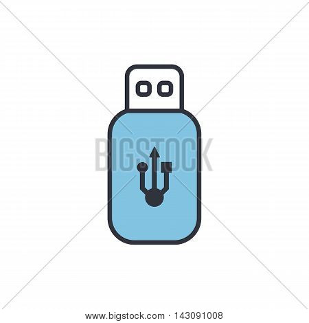 Vector Flash Drive Icon