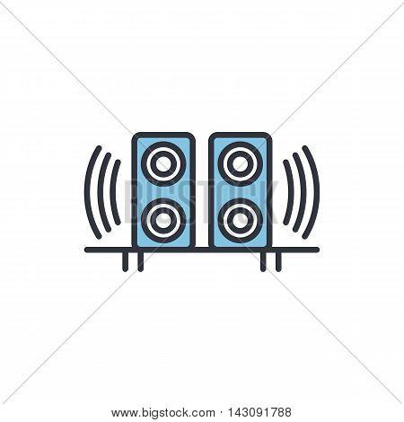 Vector Speakers Icon