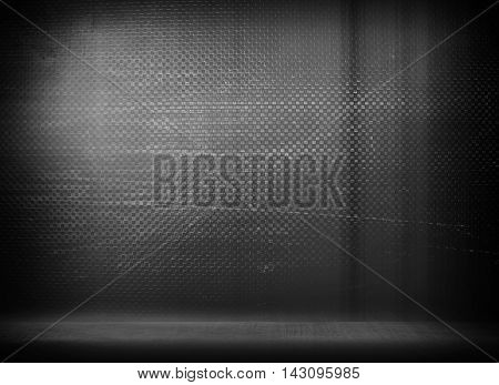 scratched iron wall interior background