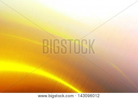 polished gold metal background