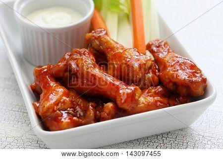 buffalo chicken wings, american food