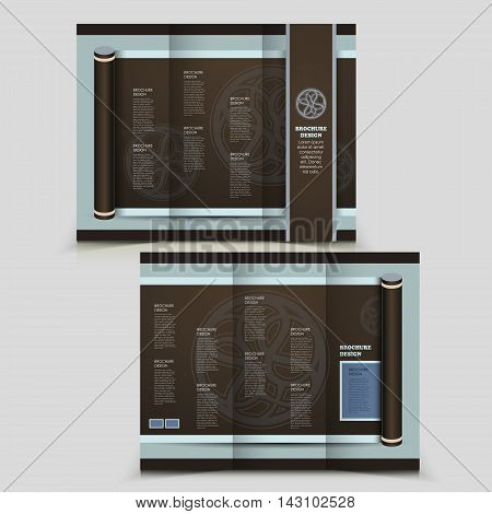 Elegant Tri-fold Brochure Design