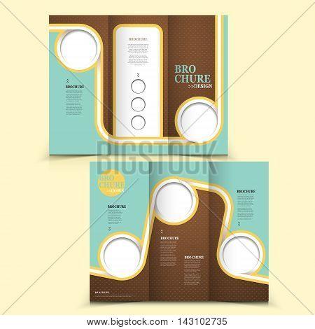 Modern Tri-fold Brochure Design