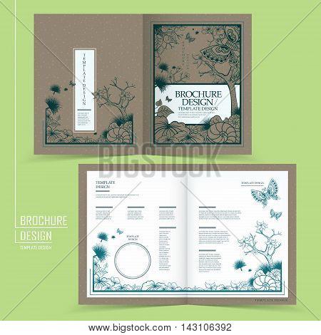 Classical Graceful Half-fold Template Design