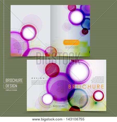 Abstract Half-fold Template Design