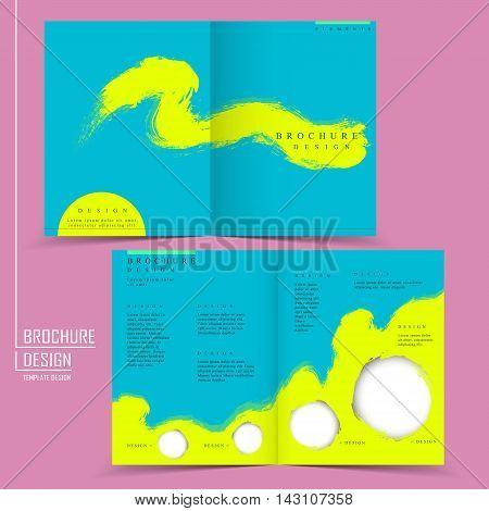 Attractive Half-fold Template Design