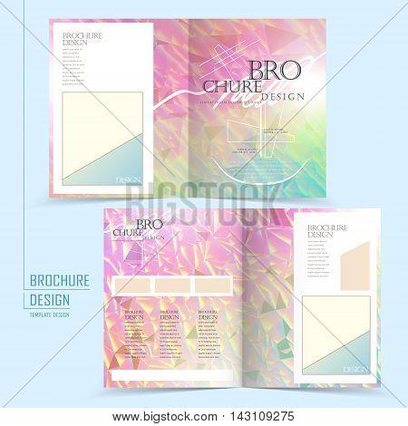 Graceful Half-fold Template Design