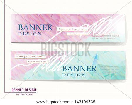 Graceful Banner Template Design