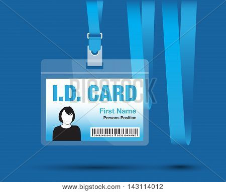 Id Card Woman Blue5 [converted].eps