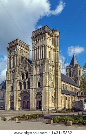The Abbey of Sainte-Trinite (the Holy Trinity) is a former monastery of women in Caen Normandy France. Abbey Church