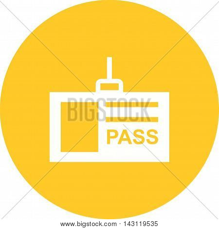 Card, hand, pass icon vector image. Can also be used for celebrations. Suitable for use on web apps, mobile apps and print media