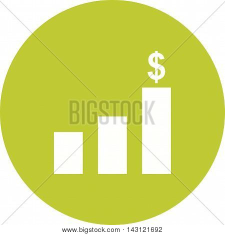 Inflation, economy, finance icon vector image. Can also be used for finances trade. Suitable for use on web apps, mobile apps and print media.