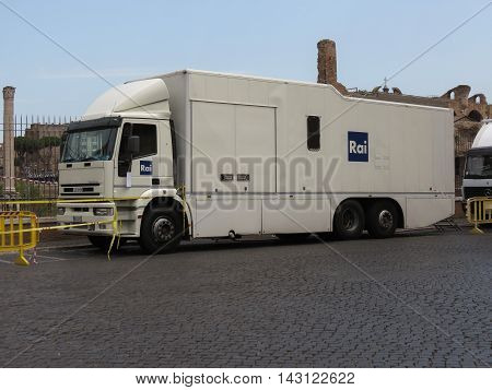 Rai Tv Truck