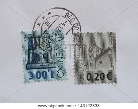 Stamps Of Slovakia