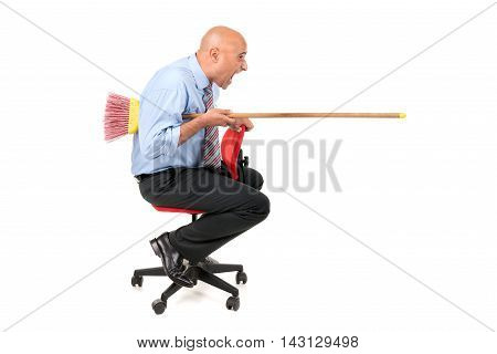 Worker Jousting
