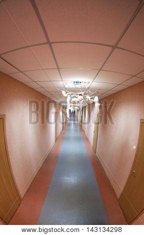 Corridor, top view