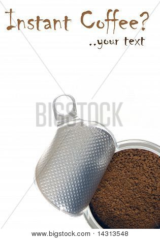 Instant Coffee For Frappe