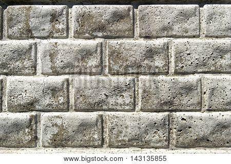 Brickwork, brick, pattern of decorative brick surfaced, rough brick wall, brickwall, brick house, white brick
