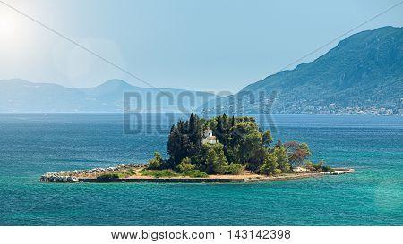 Pontikonisi (mouse Island)