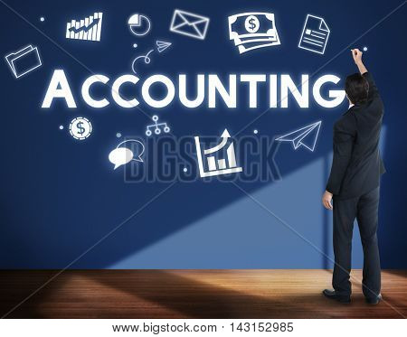 Accounting Financial Economy Capital Management Concept