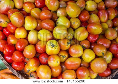 big tomato, food, Healthy Food, Red tomatoes, tomato, Tomato yellow, tomatoes market