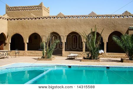 Swimming Pool At  Morocco Hotel