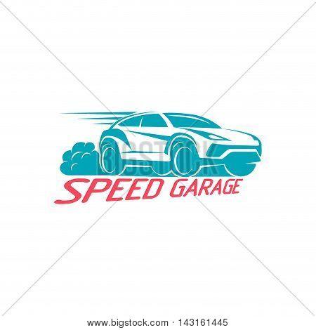 Car Logo emblem Template Design Vector illustration