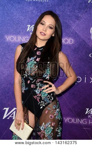 LOS ANGELES - AUG 16:  Kelli Berglund at the Variety Power of Young Hollywood Event at the Neuehouse on August 16, 2016 in Los Angeles, CA