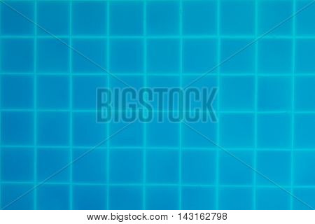 Background Blue ripped water in swimming pool background