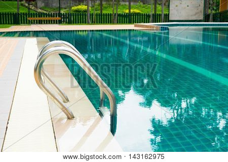 image of swimming pool park and outdoor