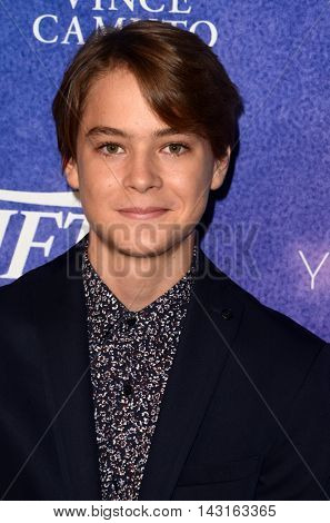 LOS ANGELES - AUG 16:  Judah Lewis at the Variety Power of Young Hollywood Event at the Neuehouse on August 16, 2016 in Los Angeles, CA