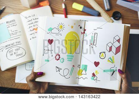 Ideas Creative Inspiration Design Imagine Concept