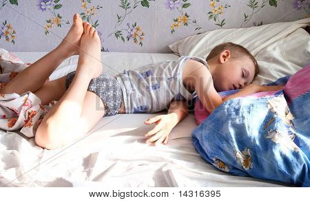 Morning dream of the child