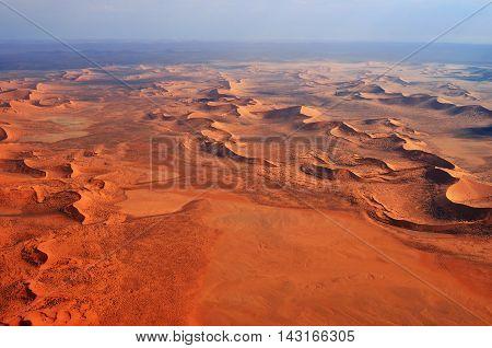 Namib Desert Aerial View