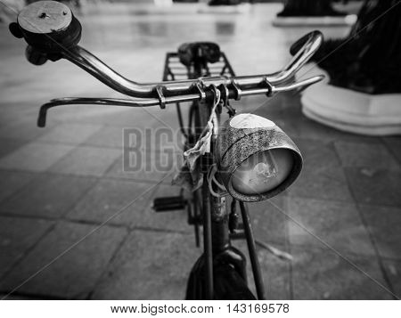 Old Classic Bicycle