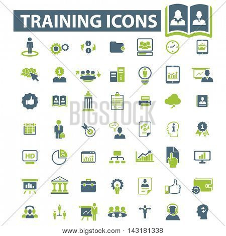 training icons