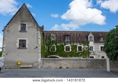 Viewon Old stone house at Loir-et-Cher France