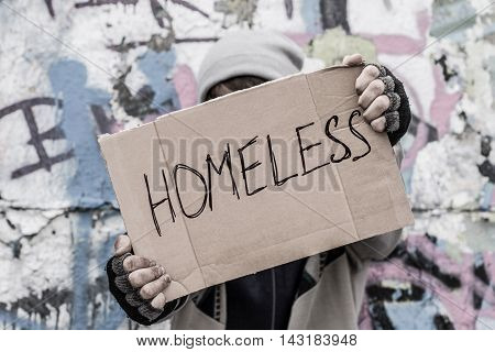 Homeless Pray For Home