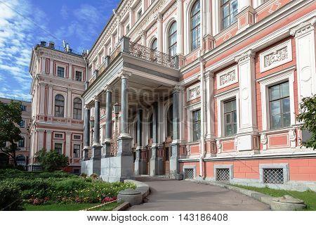 Nicholas Palace (palace of Grand Duke Nikolai Nikolaievich of Russia) in St. Petersburg