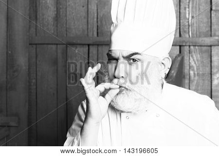 Funny Cook In Hat