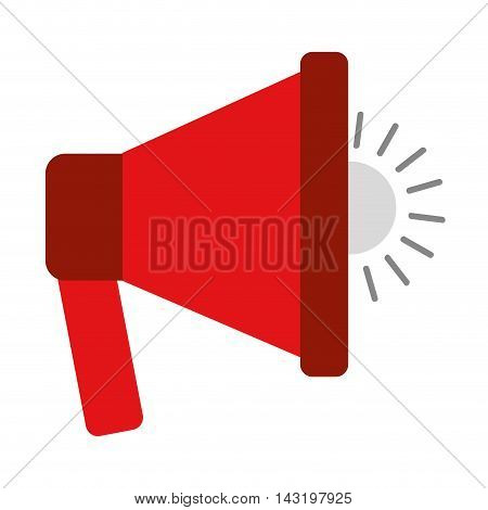 speaker sound silhouette icon vector illustration design