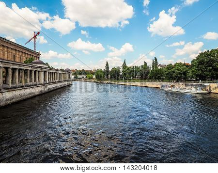 River Spree In Berlin (hdr)