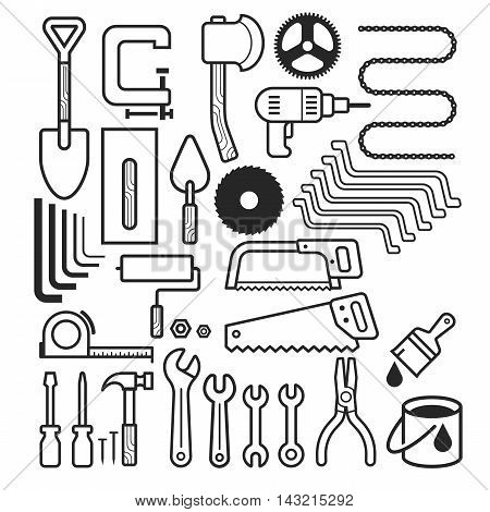 Architecture Tool Icons