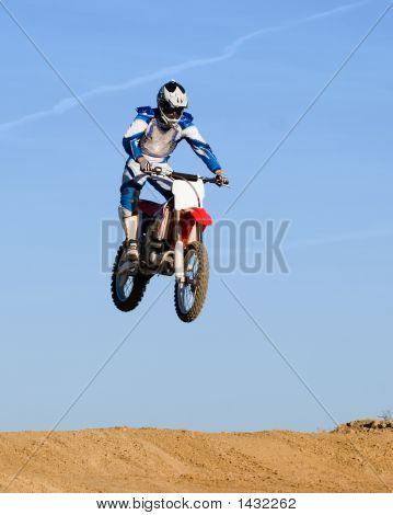 High Flying Motorcycle