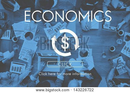 Financial Business Economics Cycle Concept