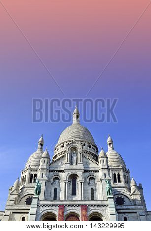 The Basilica Of The Sacred Heart Of Paris, A Roman Catholic Church And Minor Basilica, Located At Th