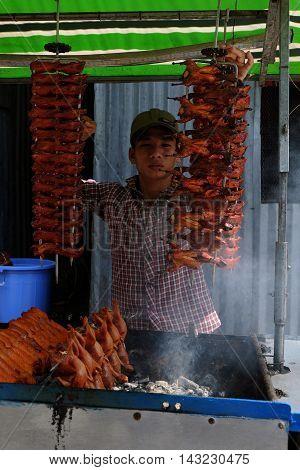 Vietnamese Street Food, Roasted Quails
