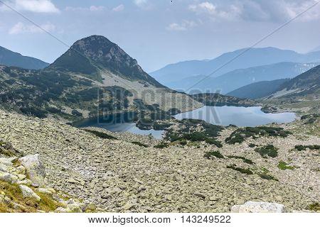 Amazing view of Gergiyski lakes,  Pirin Mountain, Bulgaria
