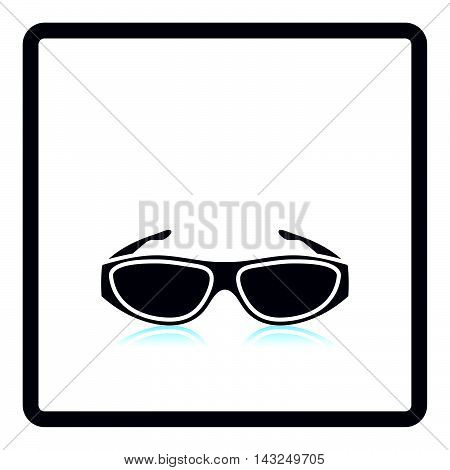 Poker Sunglasses Icon